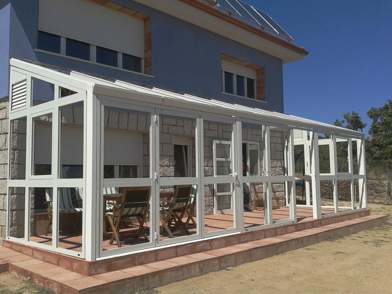 Porches de aluminio - Cerramientos de aluminio para porches ...